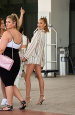 CHASE CARTER Leaves Her Hotel in Miami 07/13/2018