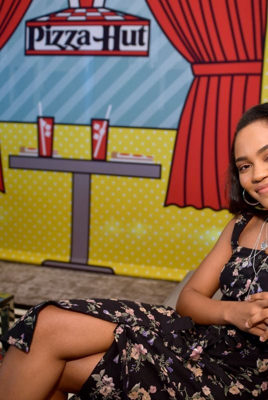 CHINA ANNE MCCLAIN at Pizza Hut Lounge at Comic-con in San Diego 07/21/2018