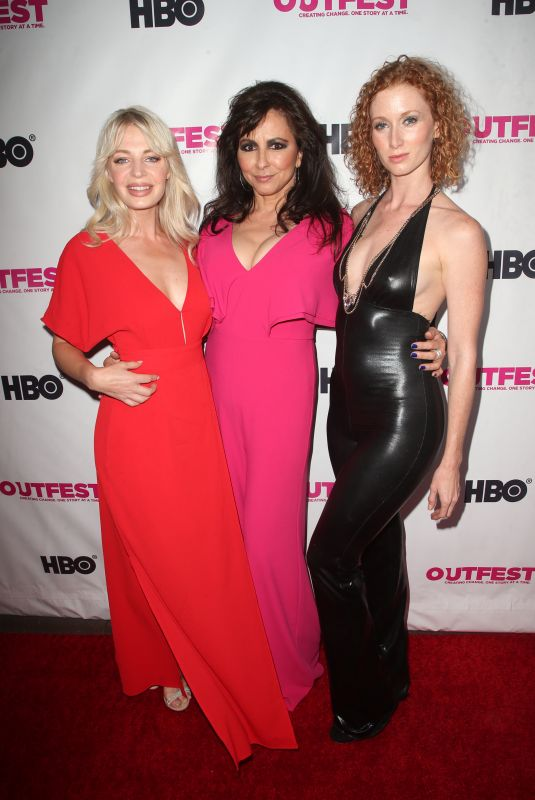 CHLOE FARNWORTH at Outfest Film Festival Opening Night Gala in Los Angeles 07/12/2018