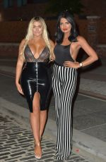 CHLOE FERRY on the Set of Geordie Shore in Newcastle 07/08/2018