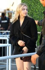 CHLOE MORETZ Arrives at Harry Style