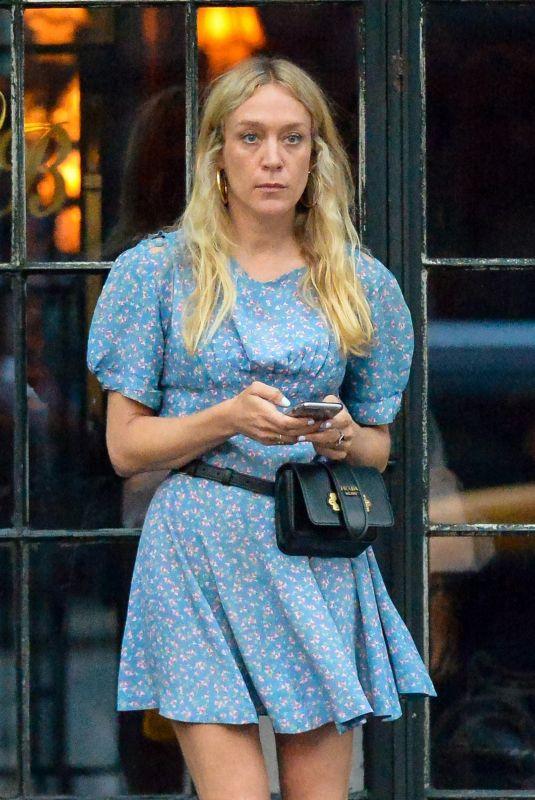 CHLOE SEVIGNY Leaves Bowery Hotel in New York 07/15/2018