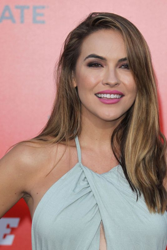 CHRISHELL STAUSE at The Spy Who Dumped Me Premiere in Los Angeles 07/25/2018