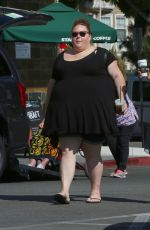 CHRISSY METZ Out for a Coffee in Los Angeles 07/16/2018