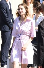 CHRISTA THERET at Chanel Show at Haute Couture Fashion Week in Paris 07/03/2018