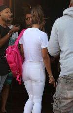 CHRISTINA MILIAN in Tight White Pants 07/01/2018