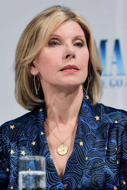 CHRISTINE BARANSKI at Mamma Mia! Here We Go Again Photocall in Stockholm 07/11/2018