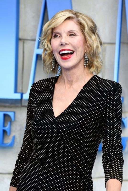 CHRISTINE BARANSKI at Mamma Mia Here We Go Again Premiere in London 07/16/2018
