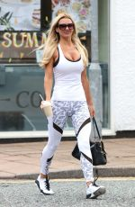 CHRISTINE MCGUINNESS Leaves a Gym in Cheshire 07/17/2018