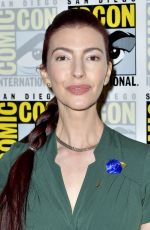 CHRYSTA BELL at Twin Peaks Photocall at Comic-con in San Diego 07/21/2018