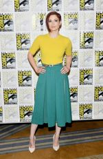 CHYLER LEIGH at Supergirl Photocall at Comic-con 2018 in San Diego 07/21/2018