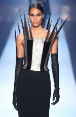 CINDY BRUNA at Jean Paul Gaultier Runway Show at Paris Fashion Week 07/04/2018