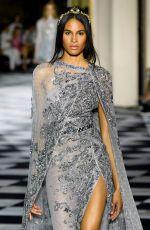 CINDY BRUNA at Zuhair Murad Fashion Show in Paris 07/04/2018