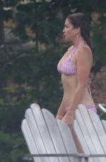 CINDY CRAWFORD in Bikini on Vacation in Canada 07/11/2018