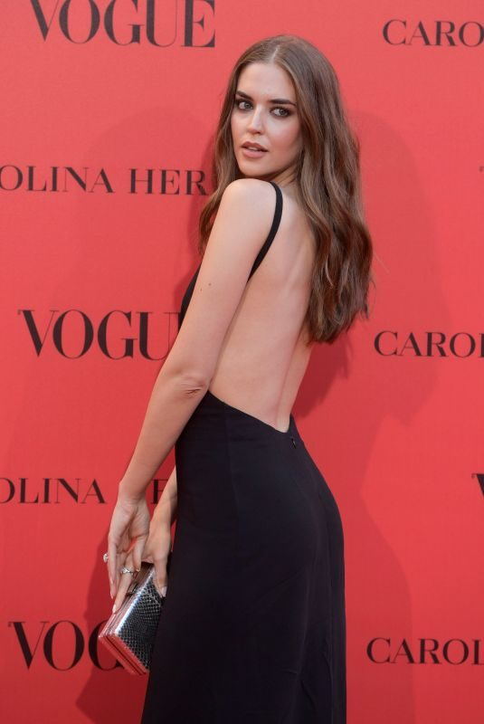 CLARA ALONSO at Vogue Spain 30th Anniversary Party in Madrid 07/12/2018
