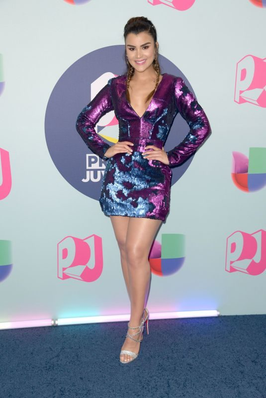 CLARISSA MOLINA at Premios Juventud Awards in Miami 07/22/2018