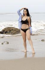 CLAUDIA ALENDE in Bikini at a Beach in Los Angeles 07/20/2018