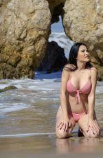 CLAUDIA ALENDE in Bikini at a Beach in Malibu 07/17/2018