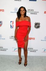 CLAUDIA JORDAN at 4th Annual Sports Humanitarian Awards in Los Angeles 07/17/2018