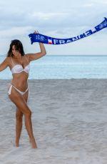 CLAUDIA ROMANI and ANAIS ZANOTTI in Bikini on the Beach in Miami 07/05/2018