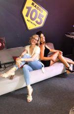 CLAUDIA ROMANI at Radio 105