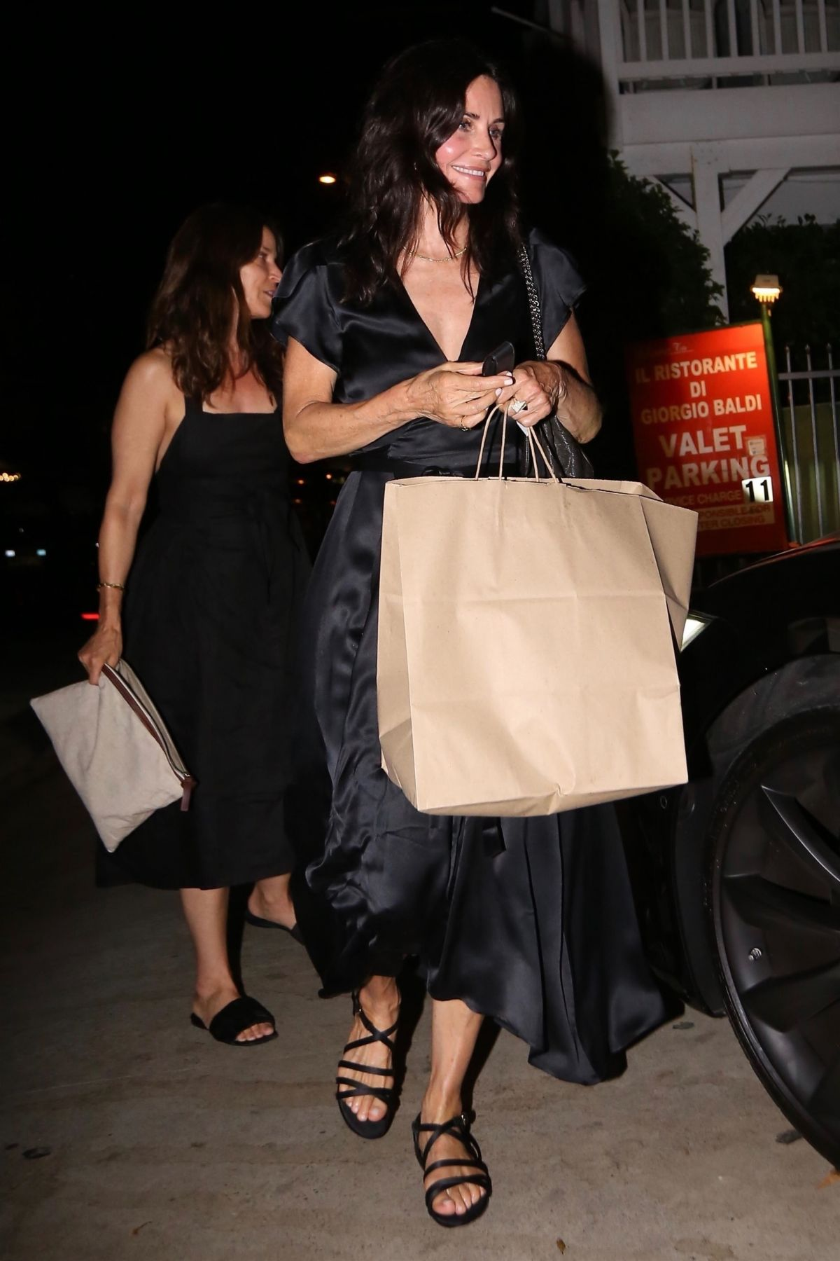 Courteney At Giorgio Baldi Restaurant In Pacific Palisades 07 12 2018