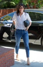COURTENEY COX in Jeans Out in Los Angeles 07/10/2018
