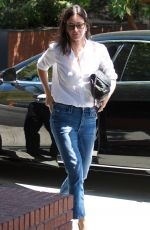 COURTENEY COX Out for Lunch at Honor Bar in Los Angeles 07/10/2018