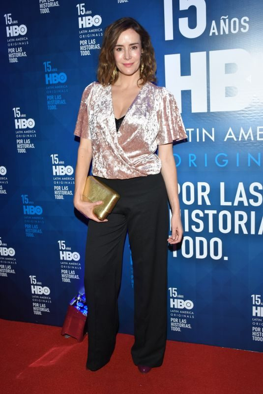 CRISTINA CAMPUZANO at HBO Latin America 15th Anniversary in Mexico City 07/18/2018