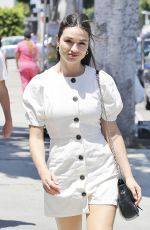 CRYSTAL REED Out Shopping in Los Angeles 07/26/2018