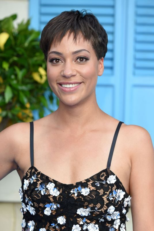 CUSH JUMBO at Mamma Mia Here We Go Again Premiere in London 07/16/2018