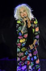 CYNDI LAUPER  Performs at Hard Rock Events Center in Hollywood 07/24/2018