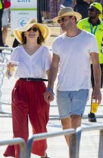 DAISY RIDLEY and Tom Bateman at British Summertime Festival in London 07/19/2018