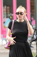 DAKOTA FANNING Out in New York 07/26/2018