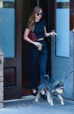 DAKOTA JOHNSON Leaves Her Hotel in New York 07/17/2018