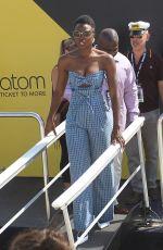 DANAI GURIRA at #imdboat at Comic-con in San Diego 07/20/2018
