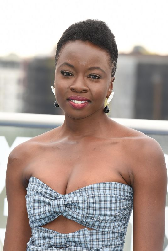 DANAI GURIRA at The Walking Dead Photocall at Comic-con in San Diego 07/20/2018