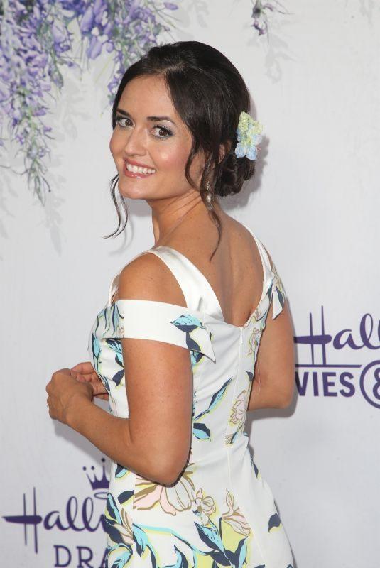 DANICA MCKELLAR at Hallmark Channel Summer TCA Party in Beverly Hills 07/27/2018