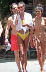 DANIELA BRAGA in Bikini on Holiday in Tulum 07/02/2018