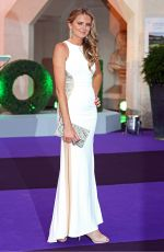 DANIELA HANTUCHOVA at Wimbledon Champions Dinner at Guildhall in London 07/15/2018