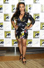 DANIELLE NICOLET at The Flash Photocall at Comic-con in San Diego 07/21/2018