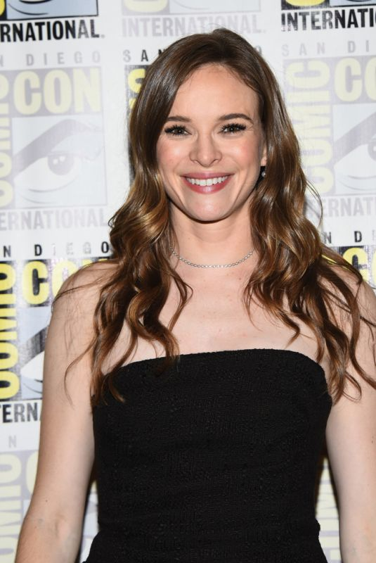 DANIELLE PANABAKER at The Flash Panel at Comic-con in San Diego 07/21/2018
