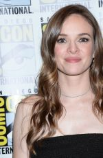 DANIELLE PANABAKER at The Flash Photocall at Comic-con in San Diego 07/21/2018