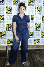 DANIELLE ROSE RUSSELL at Legacies Photocall at Comic-con in San Diego 07/21/2018