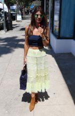DANIELLE VASINOVA Licking a Lollipop in Los Angeles 07/15/2018