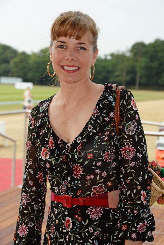 DARCEY BUSSELL at Audi Polo Challenge at Coworth Park Polo Club 07/01/2018