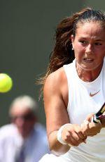 DARIA KASATKINA at Wimbledon Tennis Championships in London 07/07/2018