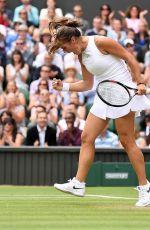 DARIA KASATKINA at Wimbledon Tennis Championships in London 07/10/2018