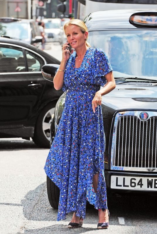 DAVINIA TAYLOR Out in London 07/28/2018