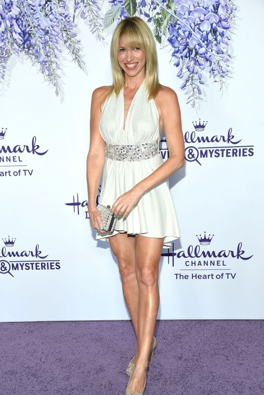 DEBBIE GIBSON at Hallmark Channel Summer TCA Party in Beverly Hills 07/27/2018